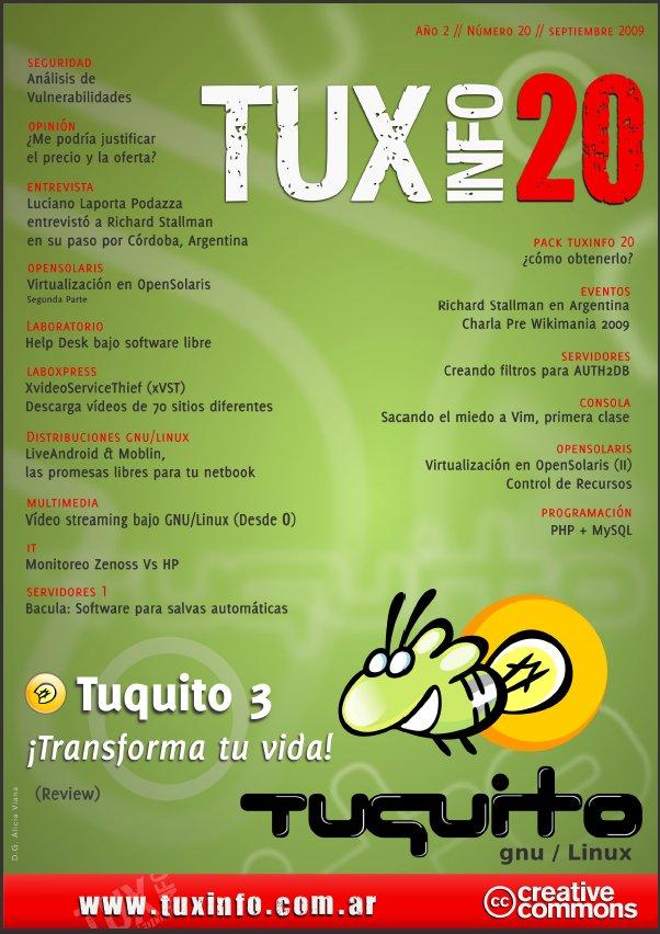 Revistas Tux Info 20 y Espirito Livre 6 - Jvare Blog